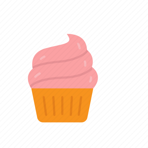 cake, cupcake, dessert, sweets icon
