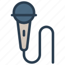 audio, mic, microphone, speaker, voice icon