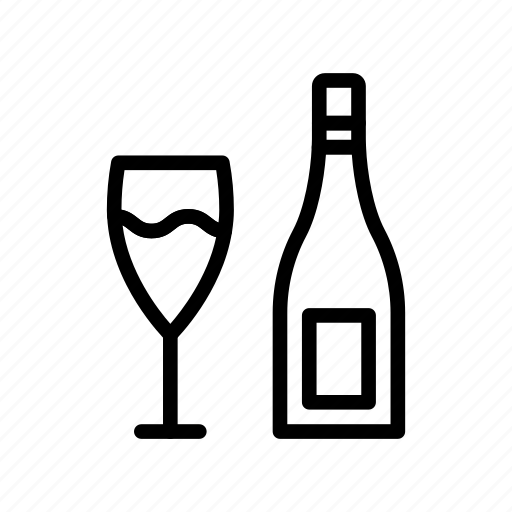 Beer, champagne, drink, glass, wine icon - Download on Iconfinder