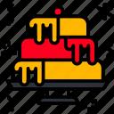 cake, birthday, celebration, party, dessert