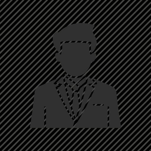 business man, man, man in tuxedo, tuxedo icon