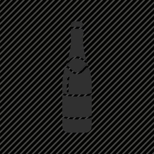 bottle, champagne, champagne bottle, wine icon