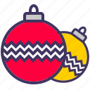 ball, christmas, decoration, new, toy, xmas, year icon