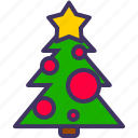 christmas, decoration, new, tree, xmas, year icon