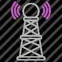 communication, journalism, media, news, signal icon