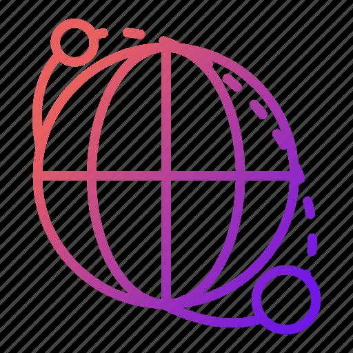 global, international, news, worldwide icon