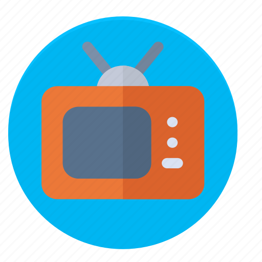manitor, news, old, television, tv, updata icon