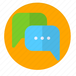 chat, chating, news, people, talk, talking icon