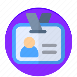 card, expert, id, news, person icon