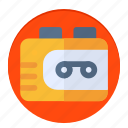 news, radio, walkman icon
