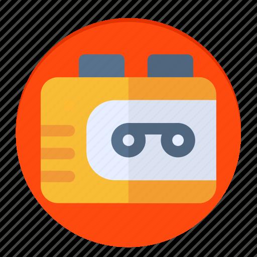 news, radio, walkman icon