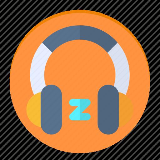 headphones, music, news, sleep, song icon