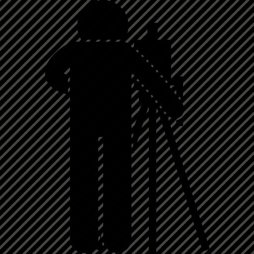 camera, cameraman, crew, news, report, studio, video icon
