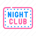night, club, dance, party, linear, lined