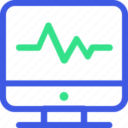 business, economy, finance, management, monitor, office, statistic icon