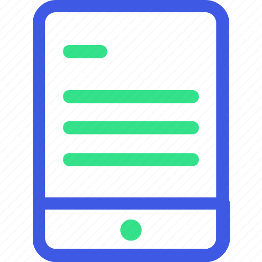 business, economy, finance, management, mobile app, office, tablet icon