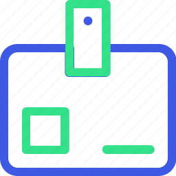 business, economy, finance, id card, identity, management, office icon