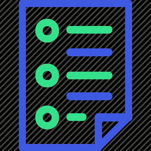 business, economy, finance, list, management, task, teamwork icon