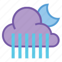 alt, moon, night, rain, shower, showers, weather icon