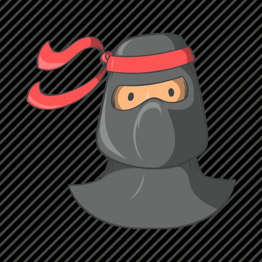 cartoon, character, japanese, mask, ninja icon