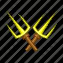 blade, cartoon, combat, fight, ninja, sai, weapon icon
