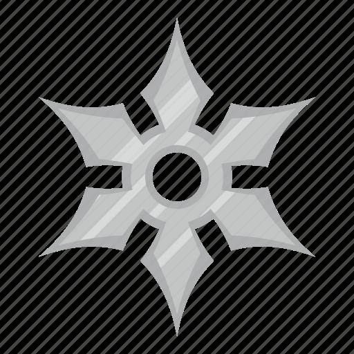 blade, iron, ninja, shuriken, star, throwing, weapon icon