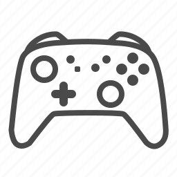 console, controller, game, nintendo, pro, switch icon