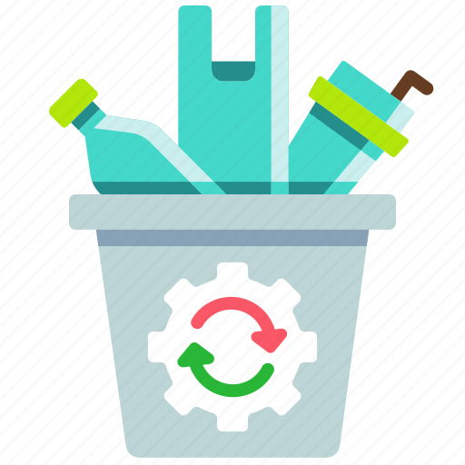eco, greenpeace, no plastic, recycle, recycle bin, reuse, waste icon