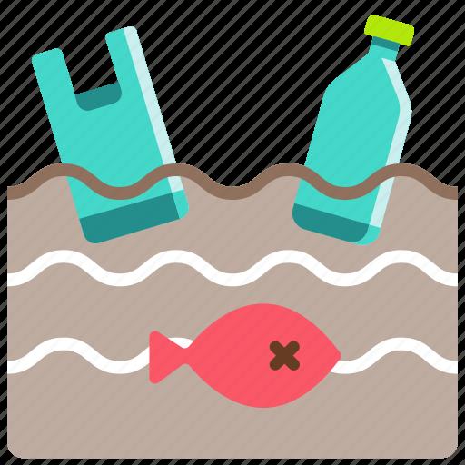 animal, greenpeace, ocean, ocean waste pollution, plastic, pollution, problem icon