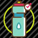 bottle, earth, eco, greenpeace, reusable, reusable bottle, save