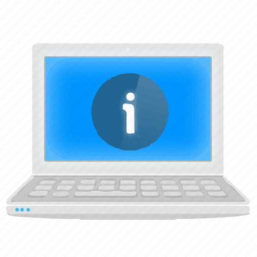About, details, help, information, laptop, notebook icon - Download on Iconfinder