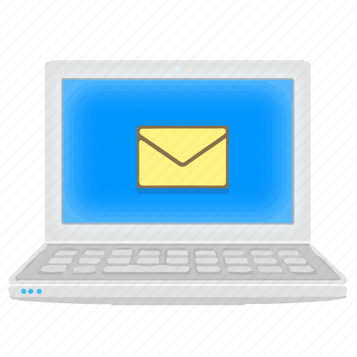 Emai, inbox, laptop, mail, notebook icon - Download on Iconfinder