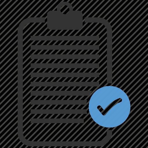 check, checkbox, checklist, mark, pad, tick icon