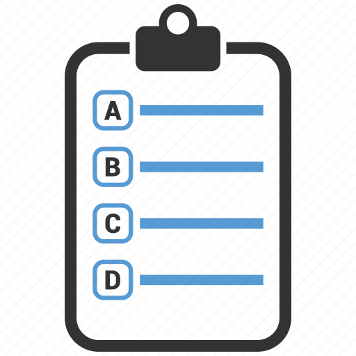 abc, clipboard, file, notepad icon