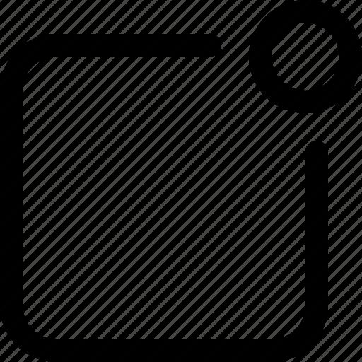app, inform, informing, notification, notify, push, remind icon