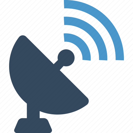 antemma, communication, connected, connection, dish, gps, satellite icon