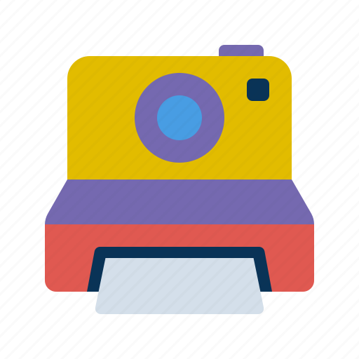 camera, multimedia, photography, picture, polaroid icon