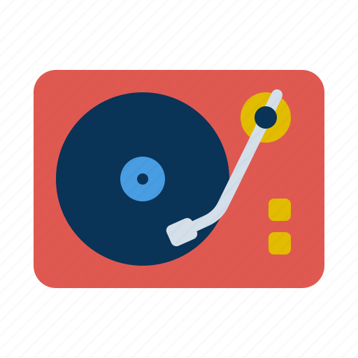 Player, record, instrument, music, speaker icon - Download on Iconfinder