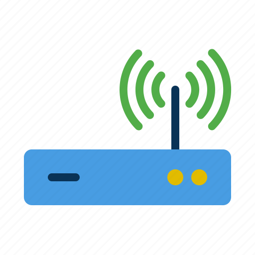 connection, network, router, signal, web icon