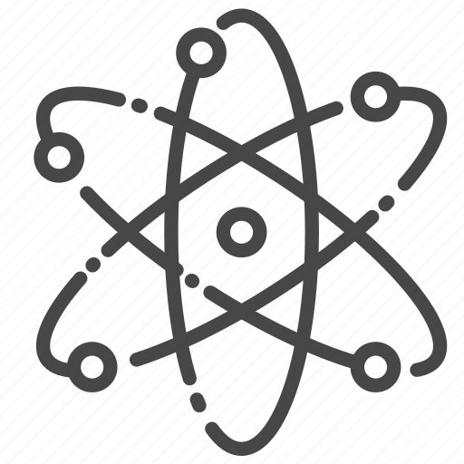 atom, nuclear, power, radioactive, science icon