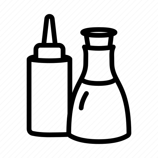 bottle, food, ketchup, nutrition, sauce, sauces, soy icon