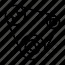 automotive, car parts, engine belt, fan belt, repair, service icon