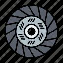 automotive, car parts, clutch, clutch disc, repair, service icon