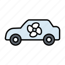 air condition, automotive, car, cooling, repair, service, ventilation icon