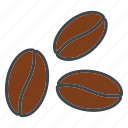 barista, beverage, coffee, coffee beans, drink icon