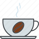 barista, beverage, coffee, coffee bean, cup, drink icon