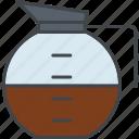 barista, beverage, coffee, drink, jug, pot icon