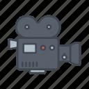 camera, cinema, entertainment, film, media, movie