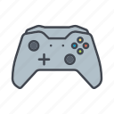 controller, device, entertainment, game, gaming, media, wireless icon