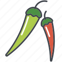 chili, food, ingredients, papper, pods, seasoning, spice icon